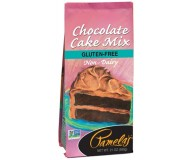 Pamela's Gluten Free Chocolate Cake Mix, 21 Oz [6 Pack]