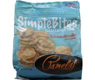 Pamela's Gluten Free SimpleBites, Snickerdoodle Mini Cookies, 7 Oz [Case of 6]