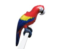 Jet Creations Inflatable Lifelike Animals, Parrot, 24 Inches Long