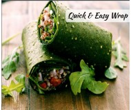Spinach Quinoa Wraps