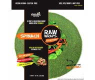 Raw Wraps, Spinach [Case of 6]