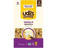 Udi's Gluten Free Vanilla Almond Granola, 12 Oz. (Case of 6)