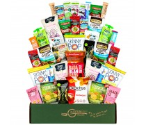 SNACK ATTACK 100 CALORIE Snacks Box   Mix of Vegan Snacks, Protein Bars & Nuts all 100 calories or Less [40 Count]