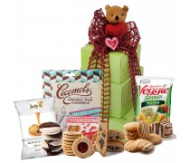 Beary Sweet Valentine's Day! Gluten Free Gift Tower