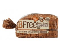 BFree Gluten Free Seeded Brown Sandwich Bread Loaf, 14.1 Oz [3 Pack]